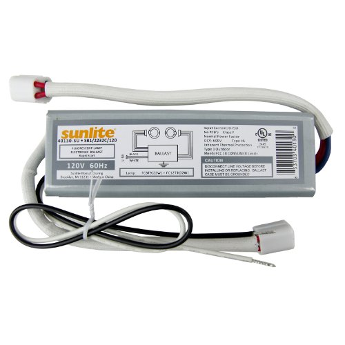Sunlite 40130-SU SB122/32C120 2 Lamp FC8T9 And FC12T9