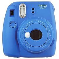 Cámara Instantánea Fujifilm Instax Mini 9 - Azul Cobalto