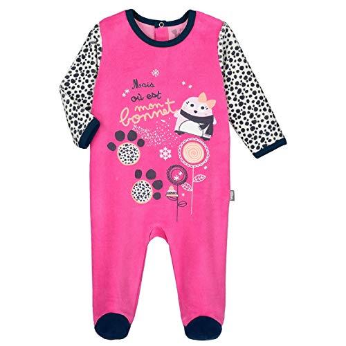 2c53b6aa0277c Pyjama bébé velours Snowbear - Taille - 3 mois (62 cm) Petit Béguin Animaux