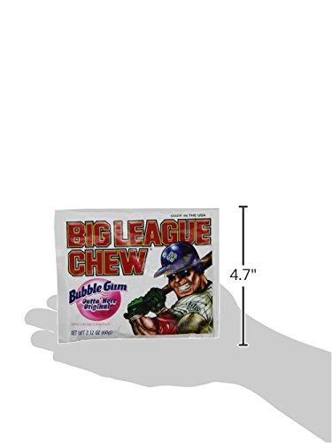 042897660004 - Big League Chew Original Bubble Gum - 2.1 oz (12 pack) carousel main 4