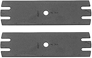 Oregon (2 Pack) Replacement Edger Blade For MTD Edgers 781-0080 # 40-316-2pk