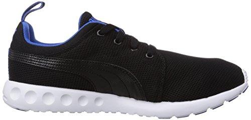 Puma Carson Runner Unisex-Erwachsene Hallenschuhe Schwarz (04 black-strong blue)