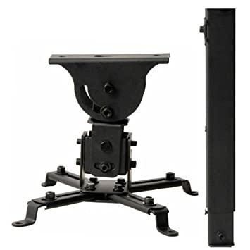 VideoSecu LCD DLP Projector Vaulted Ceiling Mount Bracket With Adjustable  Extension Pole To 26.7u0026quot;