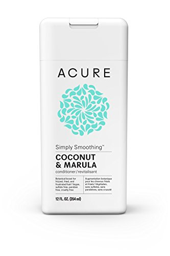 ACURE Simply Smoothing Conditioner, Coconut, 12 Fl. Oz. (Packaging May Vary)