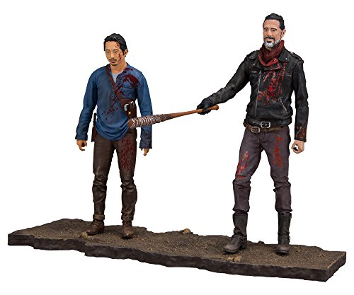 Mcfarlane Toys The Walking Dead Negan   Glenn Deluxe Box Set