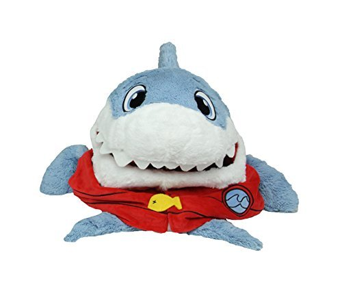 NEW 2017 - Tummy Stuffers 15 Inch Shark Clean-up Companion & Snuggly Playtime Friend