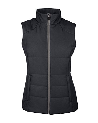 Womens Poly Taffeta Vest - 2