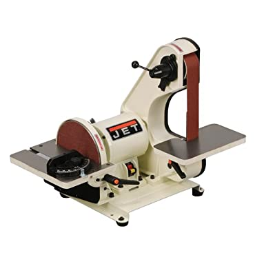 JET J-41002 2 by 42 3/4-Horsepower Bench Belt and 8 Disc Sander