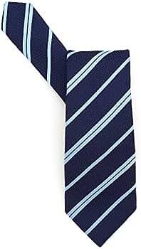 BOSS Hugo Black Classic Tie Azul Diagonal Rayas Corbata de seda ...