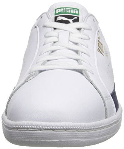 Match Mens White Lace Up Fashion Peacoat 74 Sneaker PUMA wfTqw