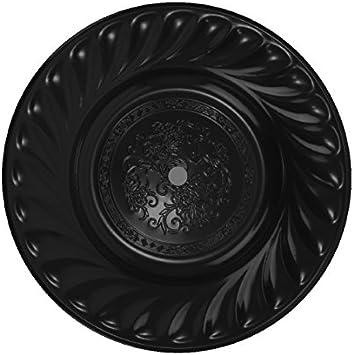 Caesar Shisha Plato de carbón, Negro , 34 cm