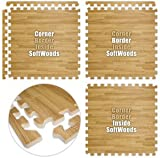 Floor Pad, SoftWoods, Light Oak, 10' x 10' Set, Total Sq. Ft.:100