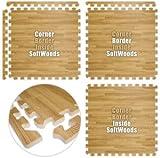 Floor Pad, SoftWoods, Light Oak, 16' x 20' Set, Total Sq. Ft.:320