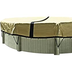 In The Swim 12-Year 24 ft. Round Ultimate Above Ground Winter Pool Cover
