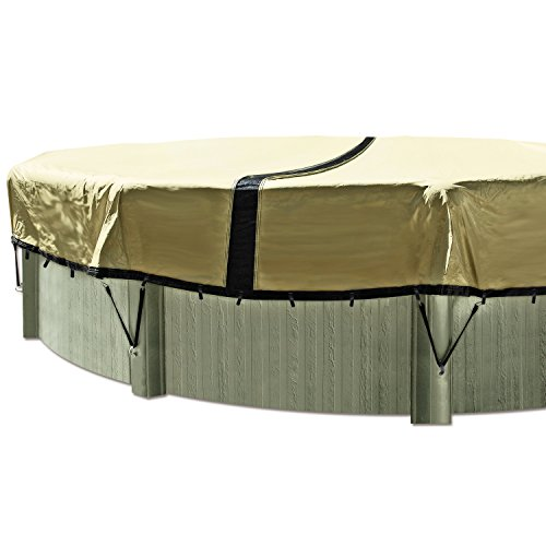 In The Swim 24' ft. Round Ultimate Above Ground Winter Pool Cover - 12 Year Warranty ()