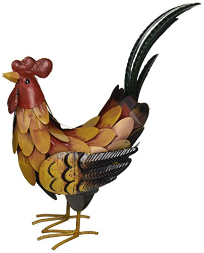 Regal Art & Gift SM Golden Rooster (Metal Chicken)