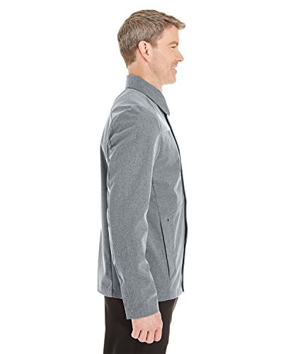 CITY Shell with Edge NAVY Men's Fold 458 Soft GREY Collar Down S Jacket 007 qwagwPxAE