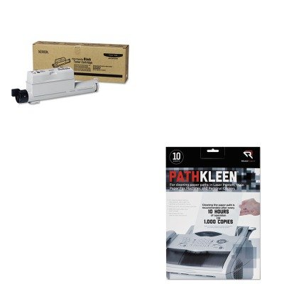 KITREARR1237XER106R01221 - Value Kit - Xerox 106R01221 High-Yield Toner (XER106R01221) and Read Right PathKleen Printer Roller Cleaner Sheets (REARR1237)