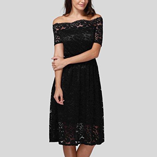 Kleid Damen SommerFreizeitkleider Abendkleider Blusenkleider ...