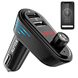 Best AGPtek Record Players - Bluetooth FM Transmitter with APP Car Locator, AGPTEK Review
