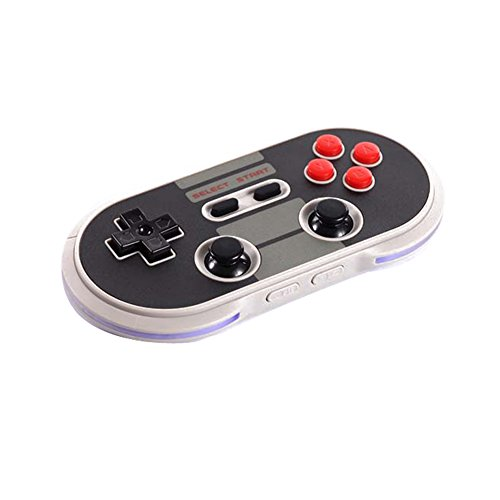 WeChip 8Bitdo N30 Pro Wireless Bluetooth Controller Game pad Dual Classic Joystick for Windows/Mac OS/Android/Linux/Raspberry/Pi/Steam (N30)