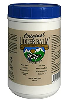 Unscented Original Udder Balm Moisturizing Cream 64oz Refill