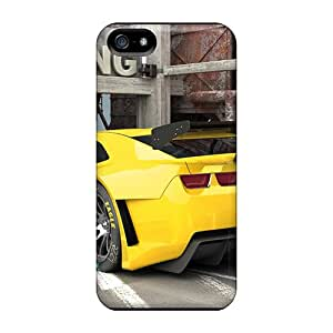 Top Quality Case Cover For Iphone 5/5s Case With Nice Chevrolet Camaro Alms Style Race Car 2010 By Vizualtech Appearance