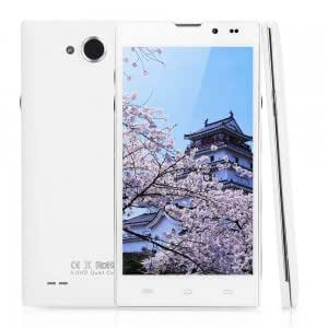 """HD5000 5.0"""" Android 4.2 GSM/WCDMA Quad-core MTK6582 1.3GHz RAM 1GB Smart Cellphone ( US Standard ) White"""