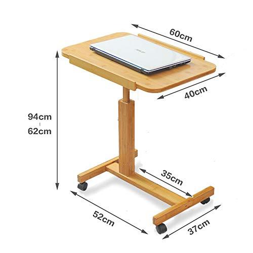 Amazon.com: TJTG Patient Table Removable Bedside Table ...