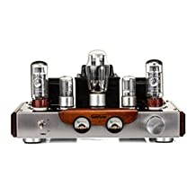 GemTune GS-01 Hi-Fi Tube Amplifier, 110V Output Voltage, Tubes: EL34*2 + 6N8P*2 +5Z3P*1 , Hi-end Tube Integrated Amplifier, Single Ended, 100% Handmade, by Gemini Doctor