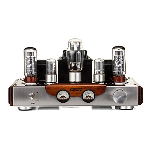 GemTune GS-01 Class A Integrated Hi-Fi Tube Amplifier with Tubes, EL34BX2 ,6N9PX2 ,5AR4X1 by GemTune