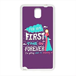 Happy Frozen Princess Anna Cell Phone Case for Samsung Galaxy Note3