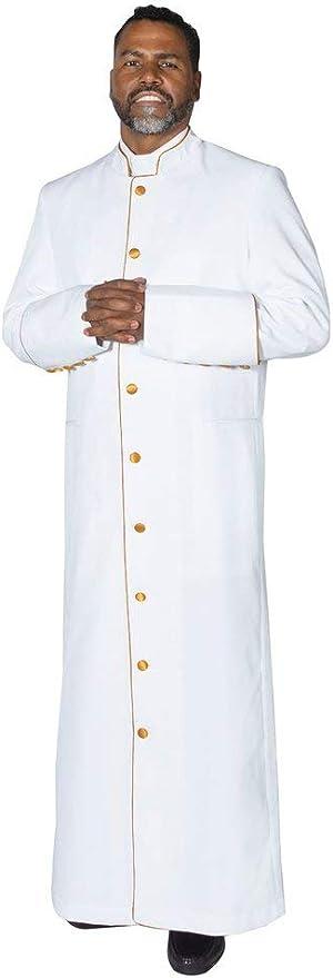 With Zipper FUCHSIA PINK cassock Clergy Robe,Minister robe,pastor robe