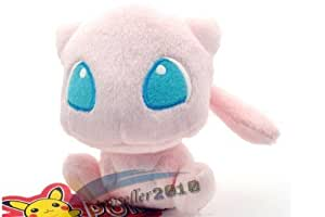 """New Pokemon Center Pokemon Monster Collection Figure Mew 6"""" Inch Pok? Plush Figure Doll soft toy baby doll"""