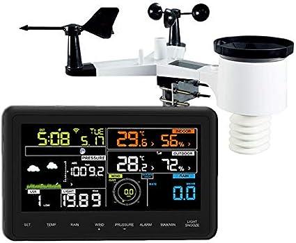 Froggit Estación meteorológica WH3000 SE (Edition 2018) a Internet ...