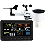 Profi radio weather station Froggit WH3000 SE (2018) - WiFi Internet weather station color display, Wunderground
