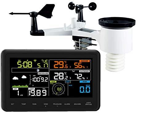 froggit WH3000 SE Profi WiFi Internet Funk Wetterstation
