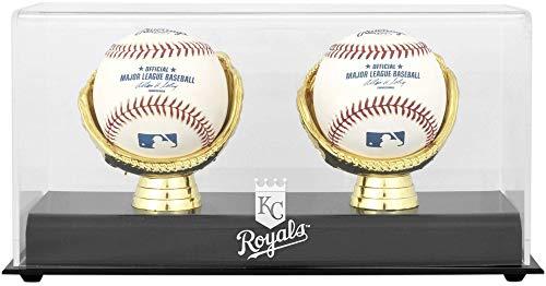 (Kansas City Royals Gold Glove Double Baseball Logo Display Case)