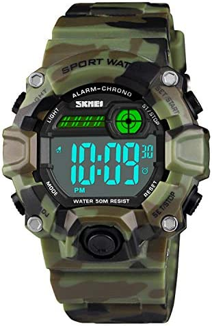 Camouflage Waterproof Electronic Military Stopwatch product image