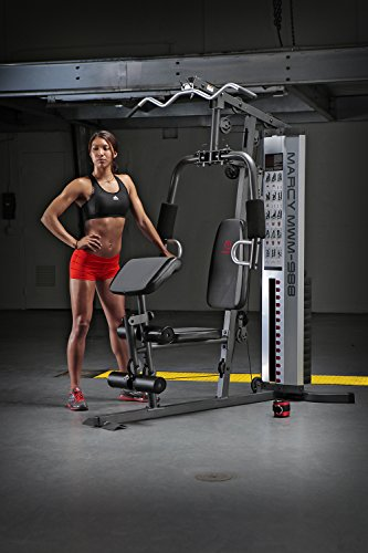 Marcy Multifunction Steel Home Gym 150lb Stack MWM-988 by Marcy (Image #4)