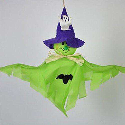 monque Halloween Horror Ghost Dolls Props Hanging Garland De
