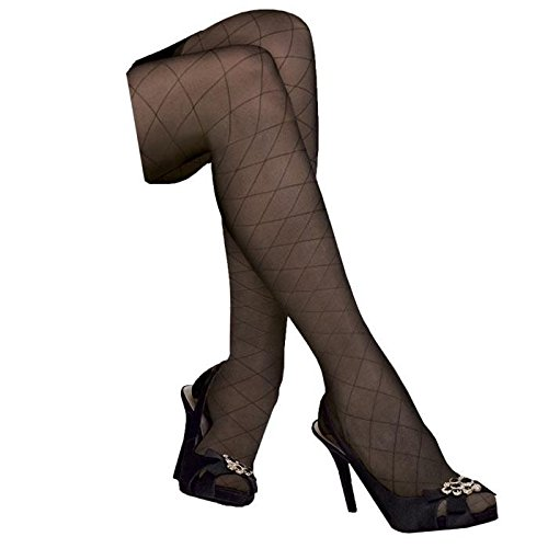 Hot BSN Medical/Jobst 119165 Ultra Sheer Compression Stocking, Thigh High, 15-20 MMHG, Closed Toe, Diamond, Classic Black, X-Large, Pair hot sale
