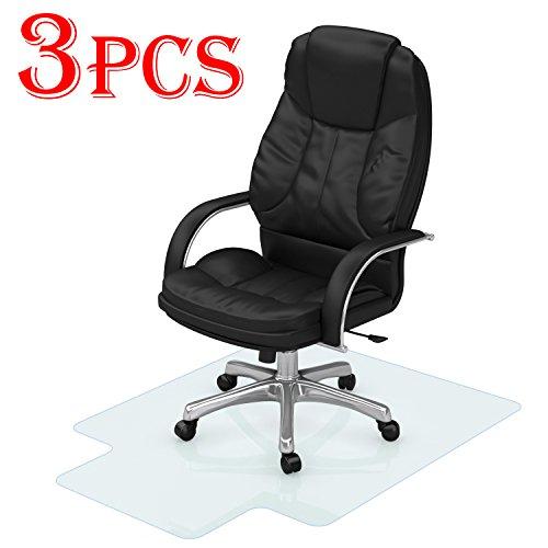 3PCS Office Desk Chair Mat - 48
