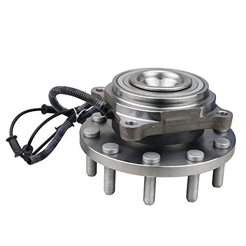 CRS NT515102 New Wheel Bearing Hub Assembly, 1 Pack, Front Left (Driver)/ Right (Passenger), for 2008-2010 Dodge Ram 5500/ Ram 4500, 2011-2015 Ram 4500/5500, 2WD/ 4WD
