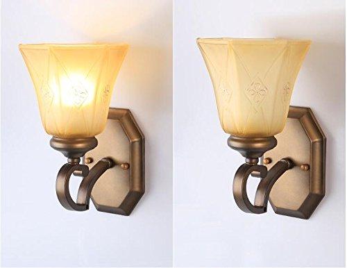 Sjun facile rustico vintage wall lampada da parete led esterni