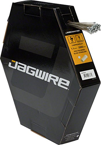 Jagwire Pro Polished Slick Stainless Derailleur Cable Box/50 1.1x2300mm Campagnolo by Jagwire