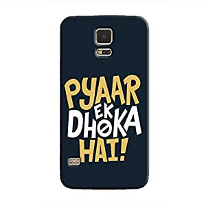 Cover It Up - Love Betrays Galaxy S5 Hard Case