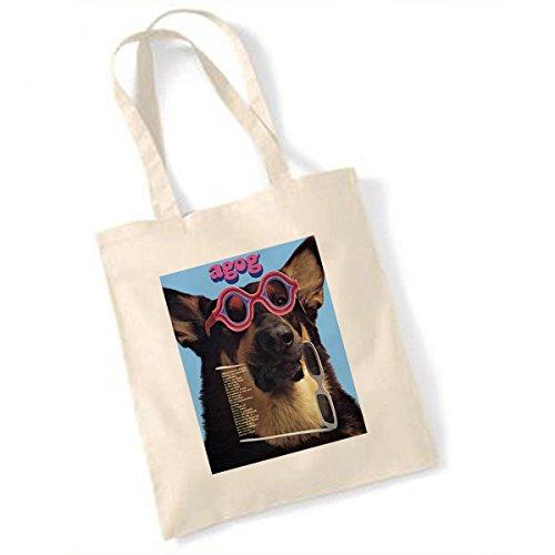 Agog Hund mit Shades Tasche