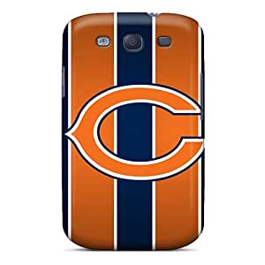 Snap-on Chicago Bears Cases Covers Skin Compatible With Galaxy S3