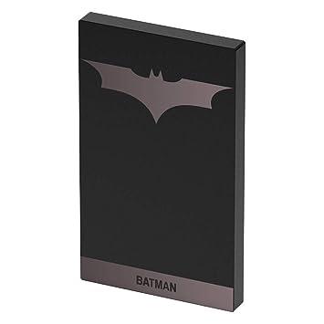 Tribe DC Comics - Cargador portátil (4000mAh) batería externa móvil para celulares, diseño Batman